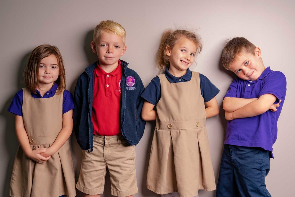 Faith Christian School Kindergarten