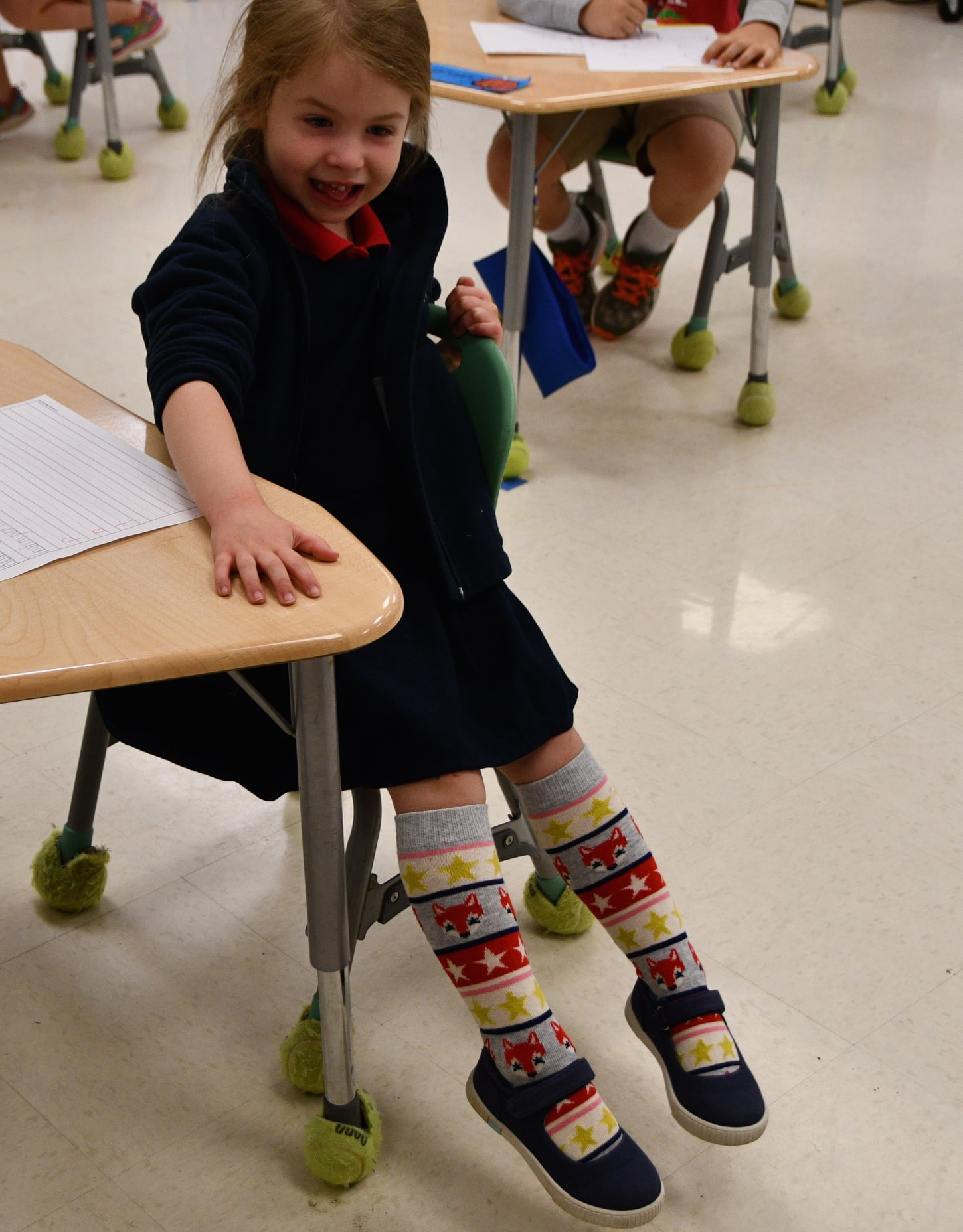 Faith Christian School Fun Sock Day